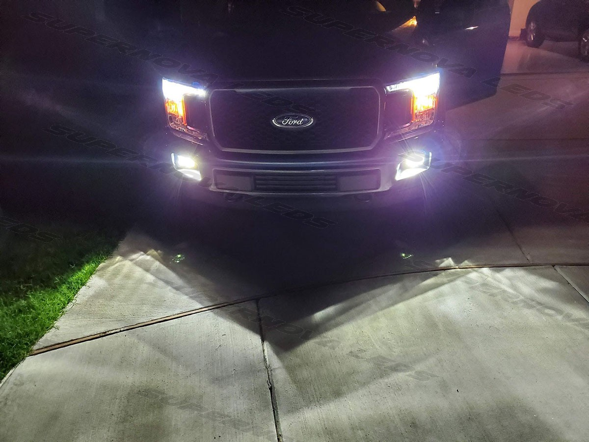 Ford F-150 Low Beams and Fog Lights