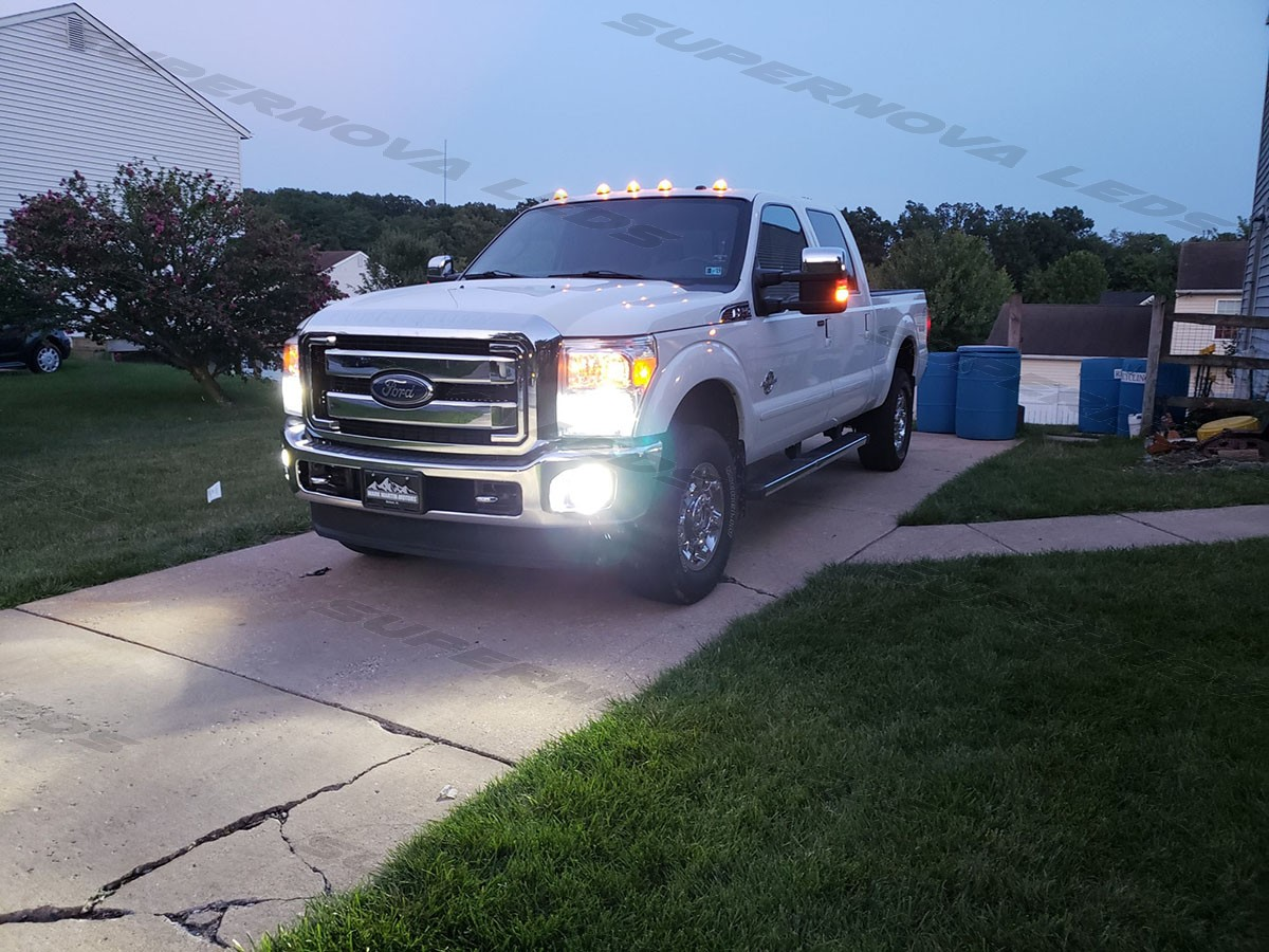 Ford F-250 Low Beams and Fog Lights