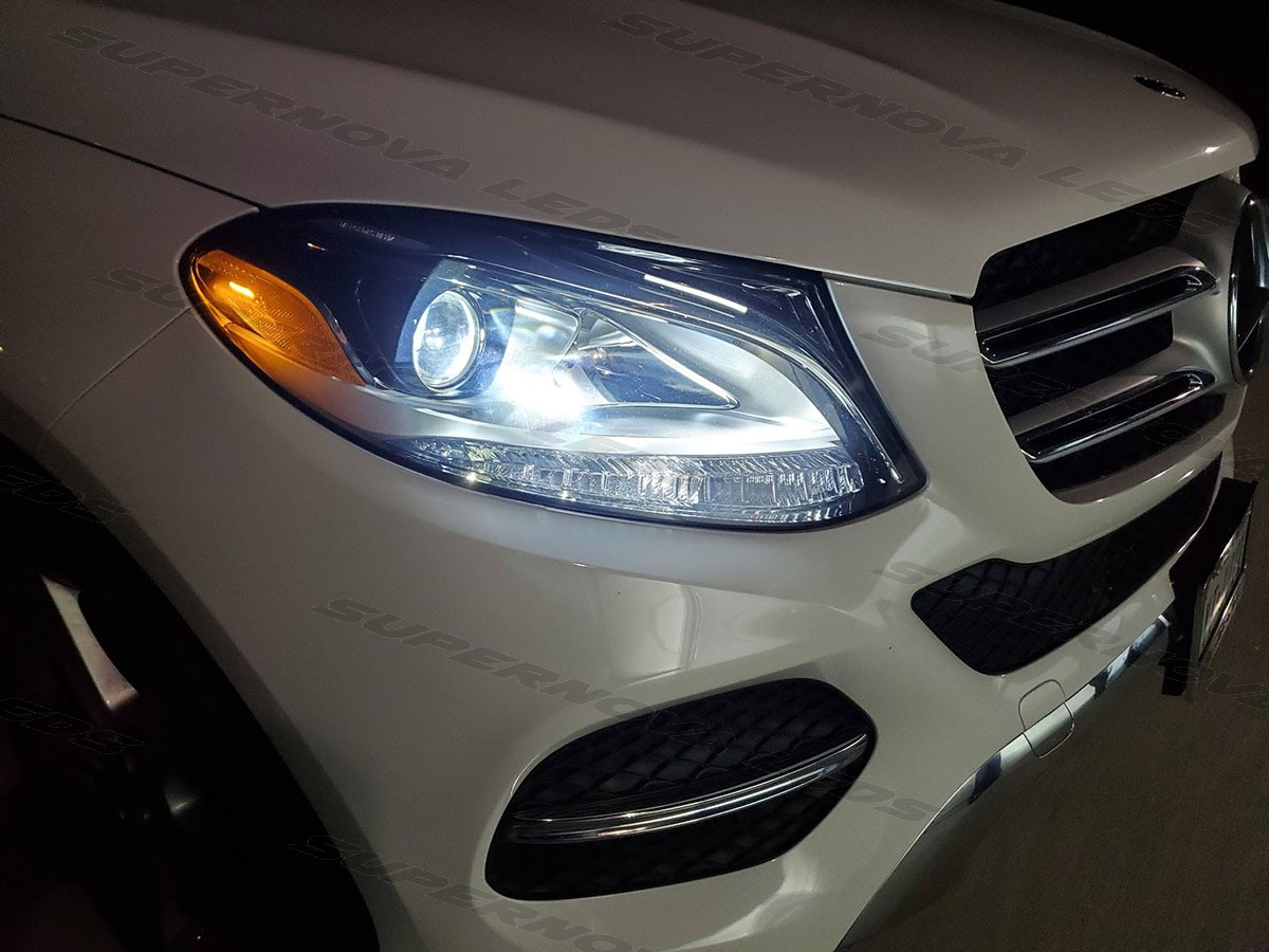 Mercedes GLE Low Beams and Fog Lights