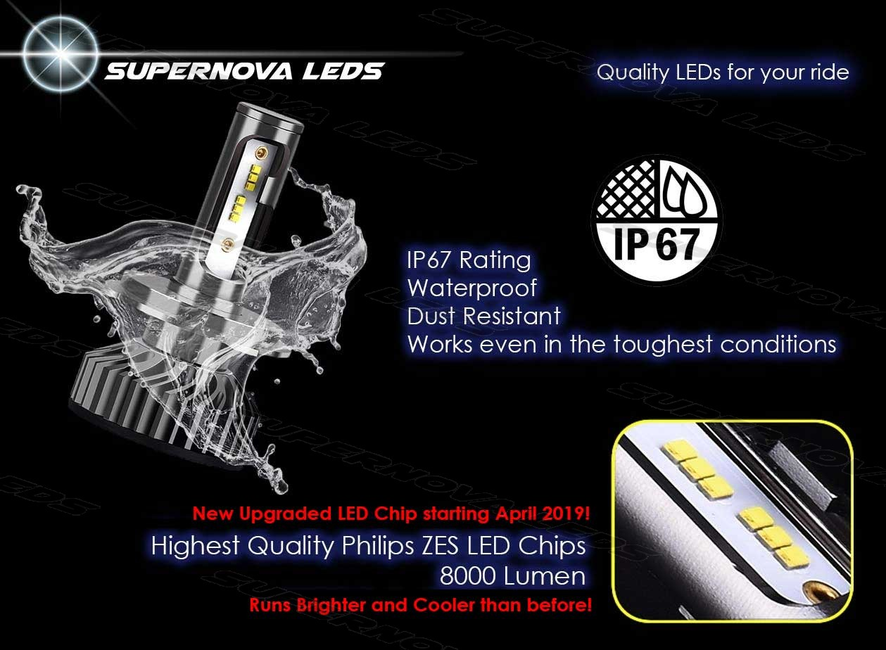 Supernova LEDs V4 Headlights