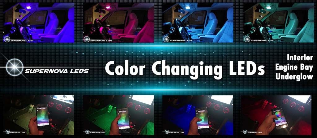 supernova leds color changing led kits universal leds shop